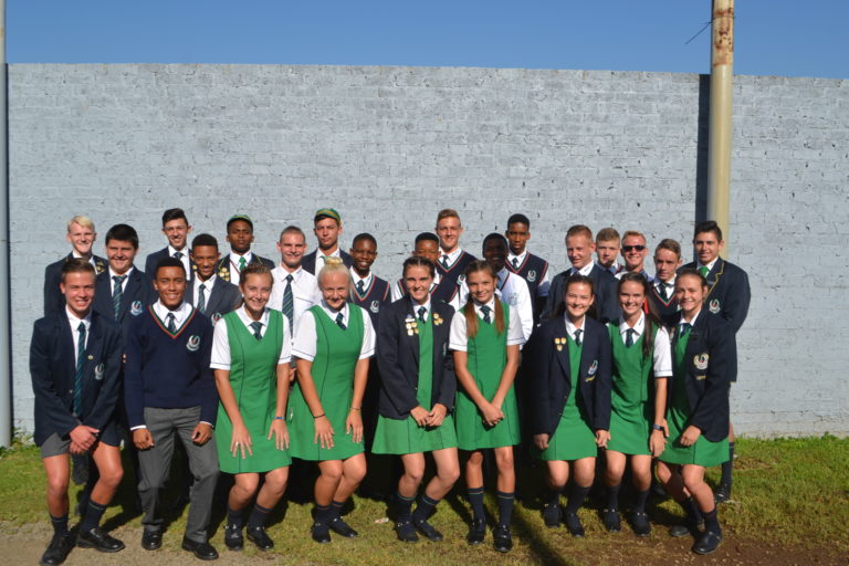 Vereeniging Gimnasium se Gauteng Atlete