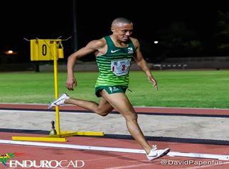 Jason Bouwer by die ASA Kampioenskappe in Paarl 5-9 April